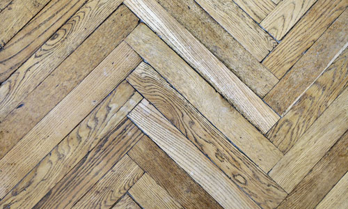 Parquet flooring for Hilary White Interiors, an interior designer in Surrey