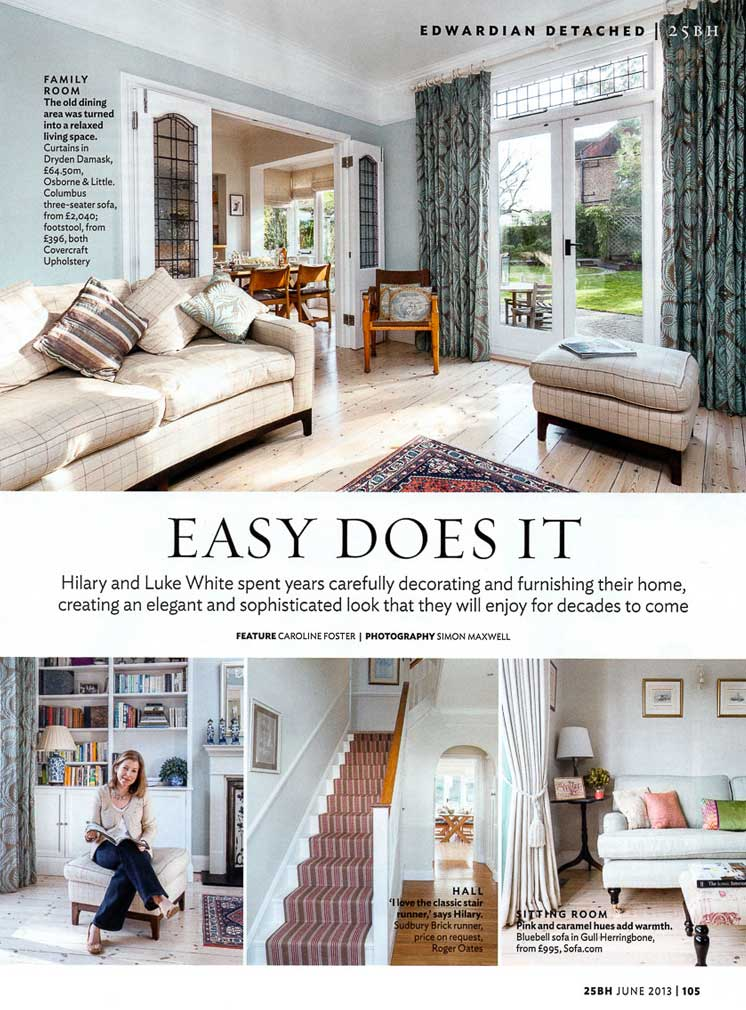 25 Beautiful Homes Magazine Article