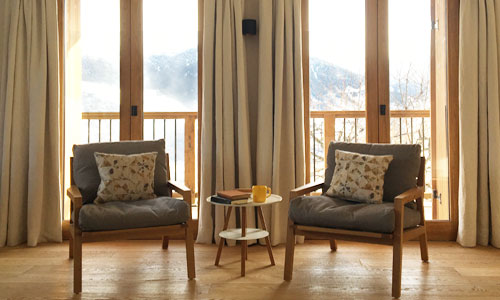 Ski Chalet Chairs, Courchevel, France
