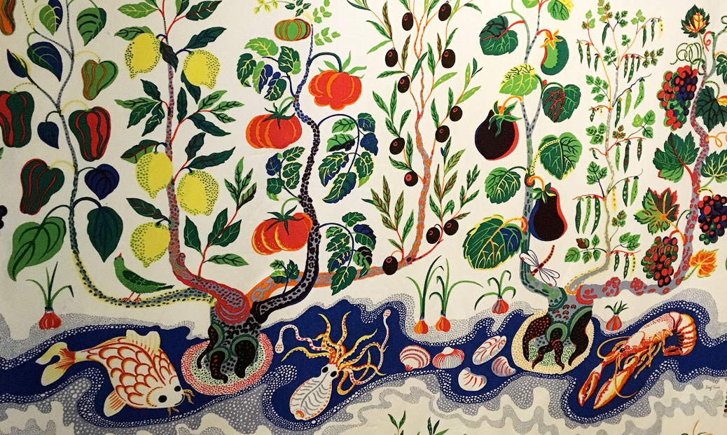 The Josef Frank exhibition; Swedish design doesn't have to be minimal and restrained