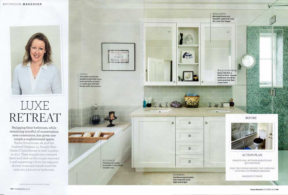 House Beautiful Magazine Article Spread