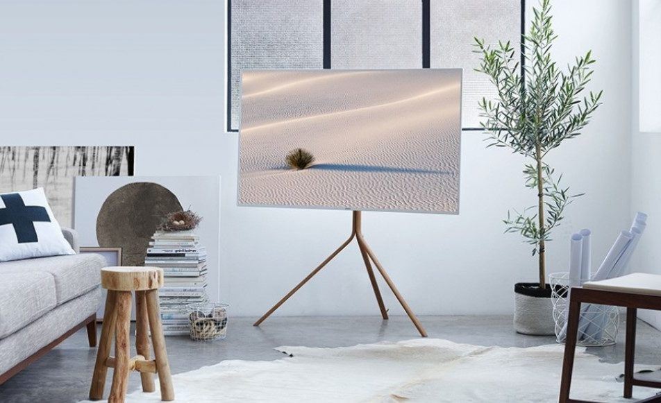 Serif television by Samsung
