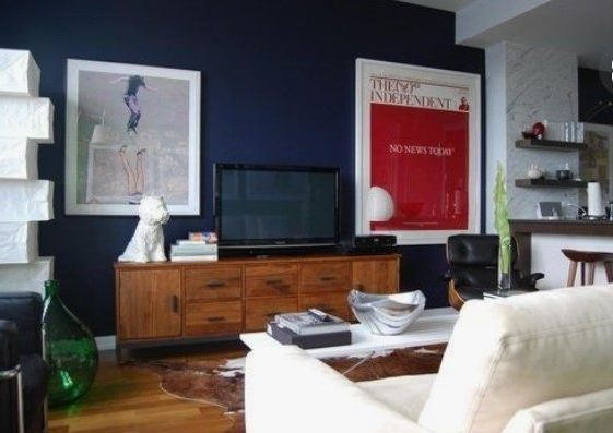 Disguising a television in an interior design scheme or sitting room