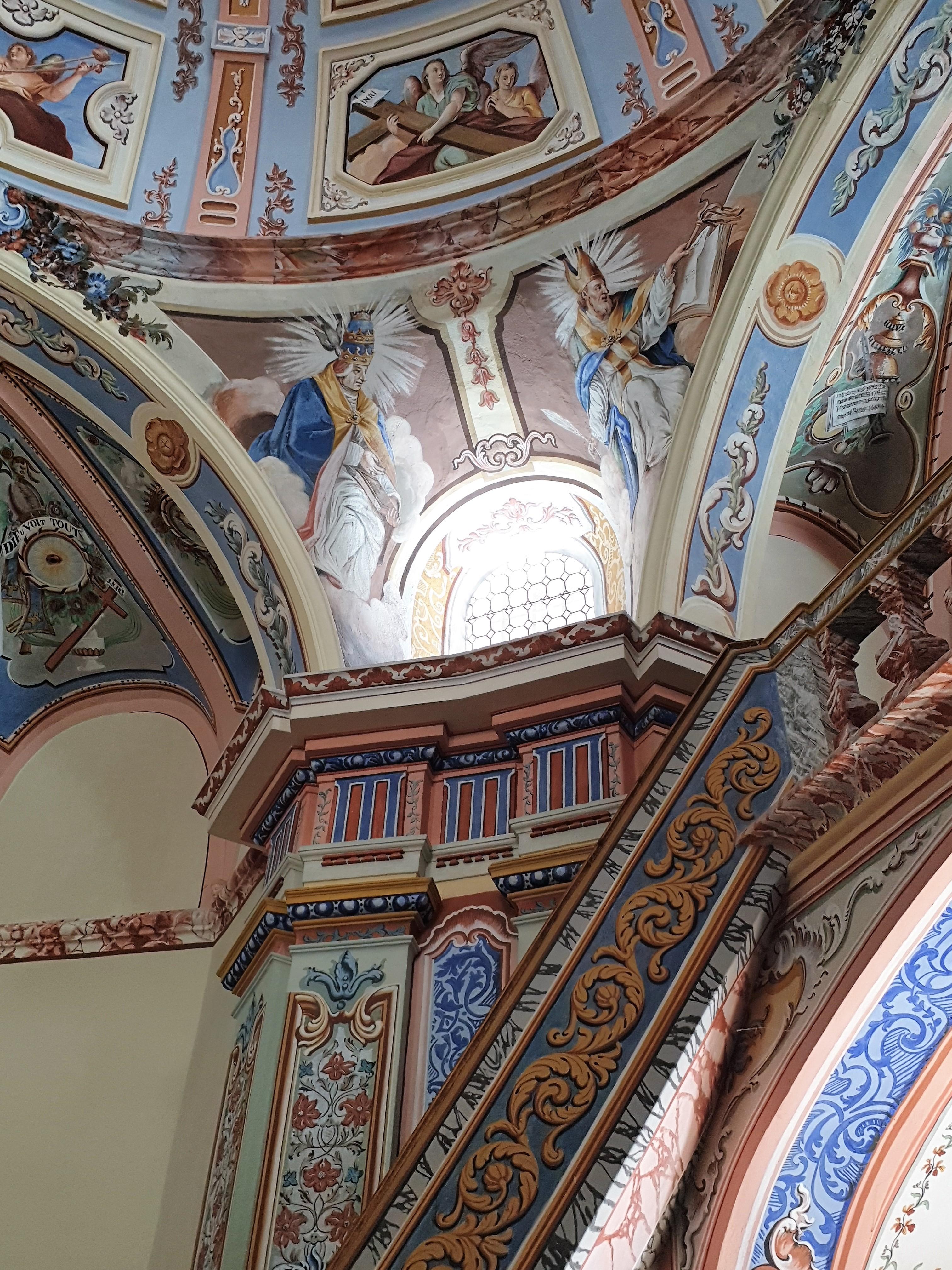 Baroque interiors of Chapel Notre Dame des Venettes