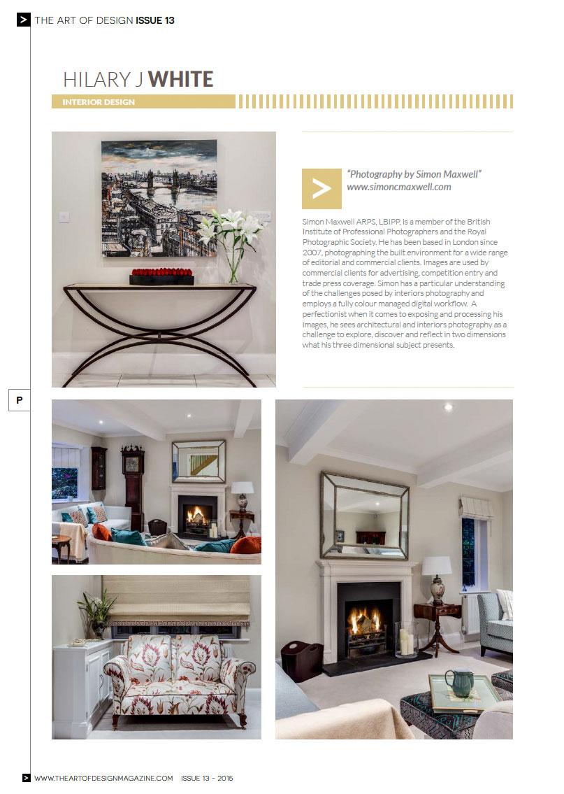 The Art of Design Magazine Page