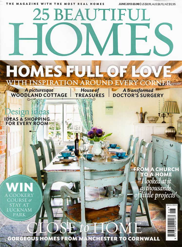 25 Beautiful Homes Magazine Cover