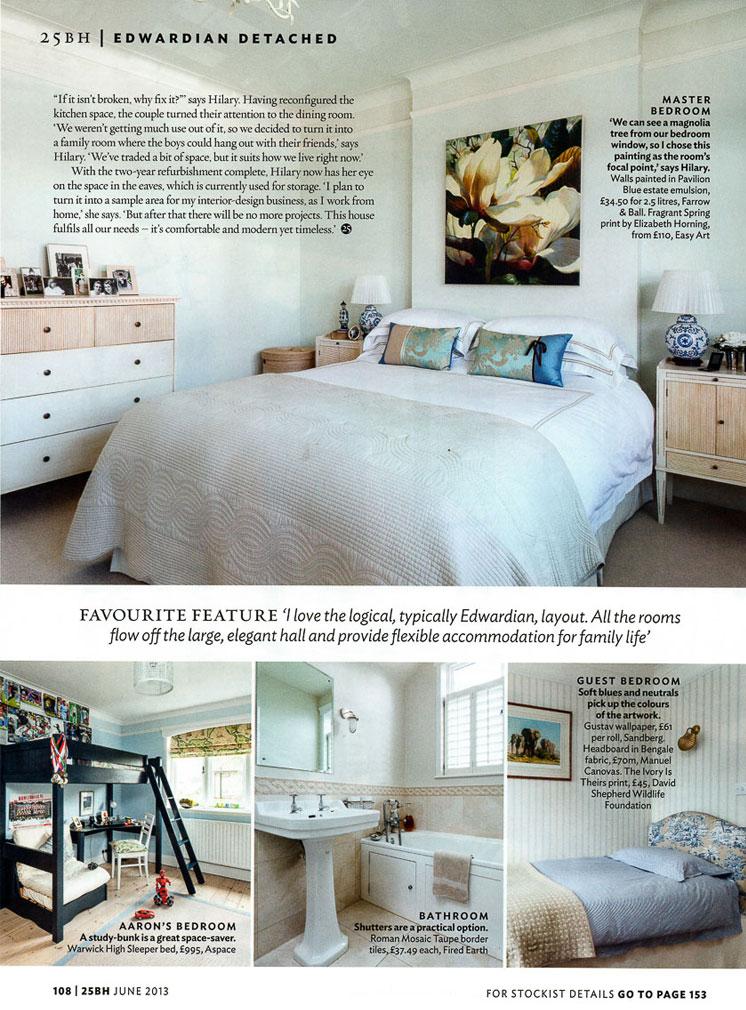 25 Beautiful Homes Magazine Page