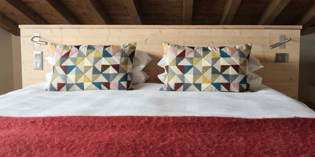 Ski Chalet Bedroom, Courchevel, France