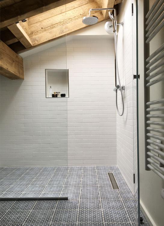 Ski Chalet Shower Room, Courchevel, France