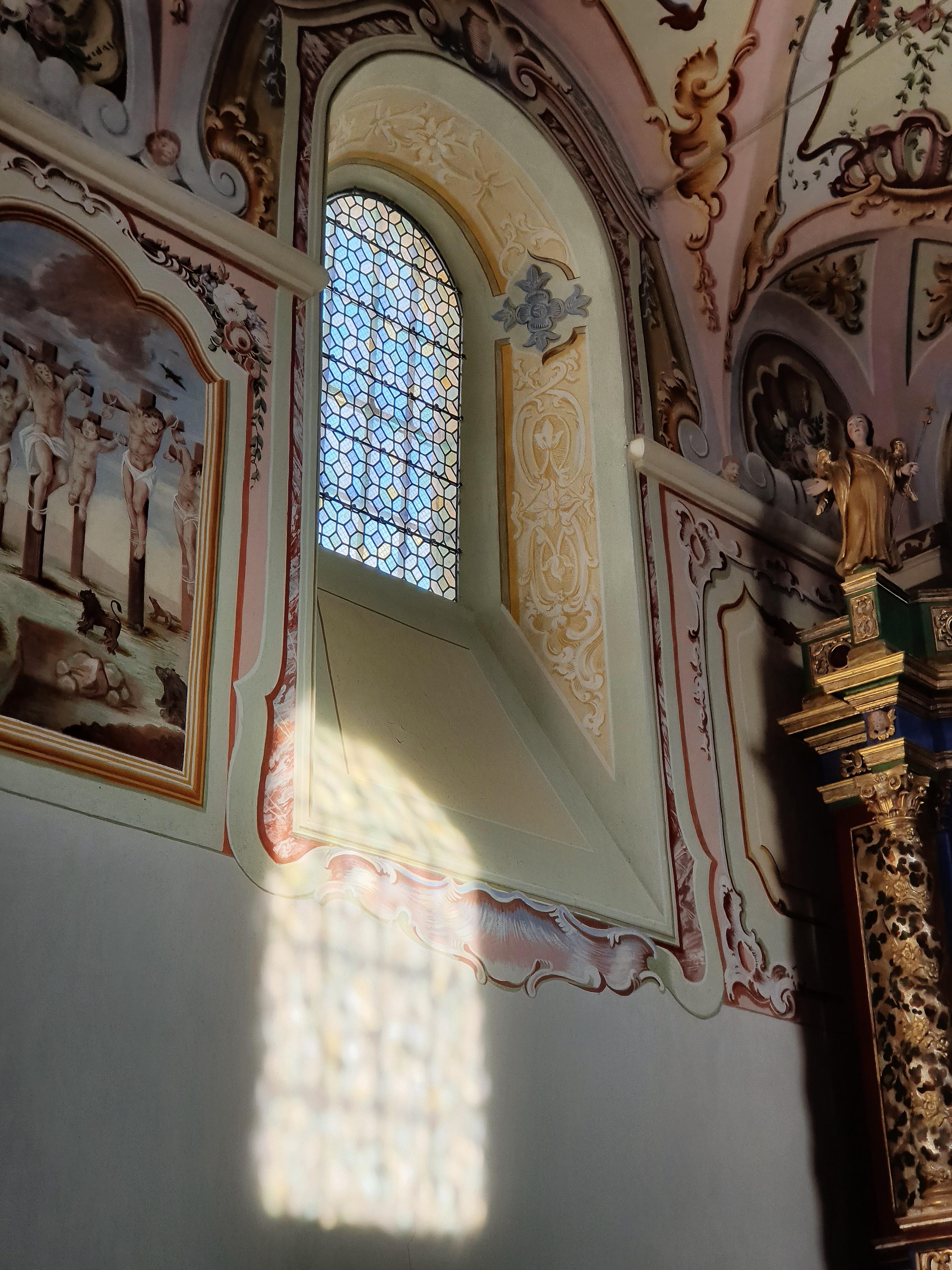 Interior Design of the Chapel Notre Dame des Venettes, Villandry in France