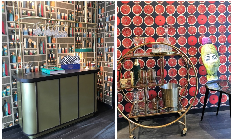 Fornasetti range of wallpapers at Cole and Son