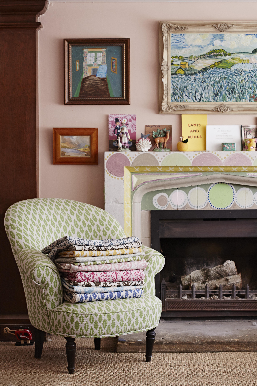 Molly Mahon Block printed fabrics